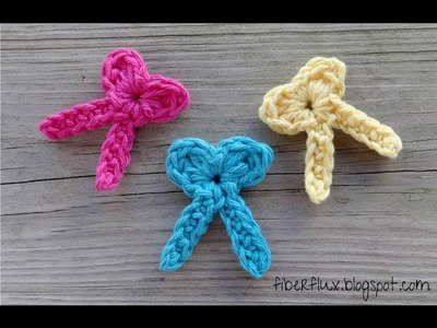 Episode 47: How to Crochet a One Round Bow