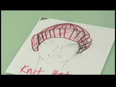Fashion Design for Hats : Knit Hat Fashion Design