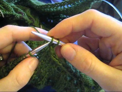 Finish Your Knitting with a Stretchy Bindoff - the K1, K2tog-tbl Bindoff Method
