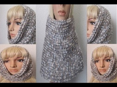 How to Crochet a Cowl-Neckwarmer P#1 by ThePatterfamily