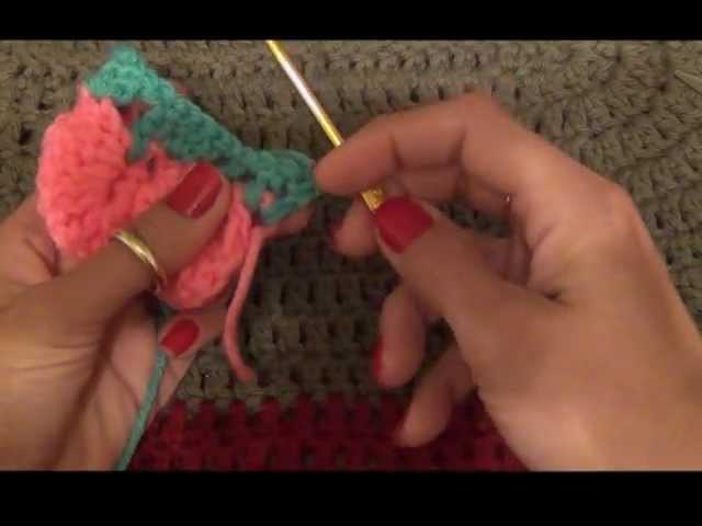 How to Crochet a Crocodile Stitch Tutorial
