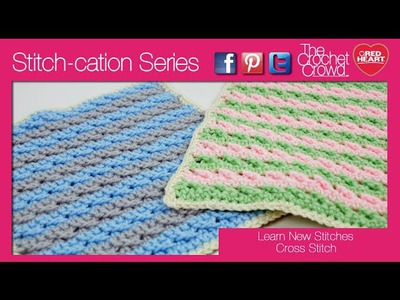 How to Crochet A Cross Stitch