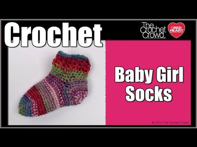 How To Crochet Baby Girl Socks