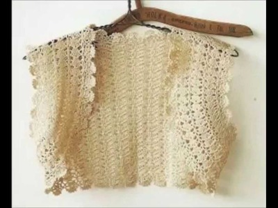 How to crochet beautiful bolero free pattern tutorial