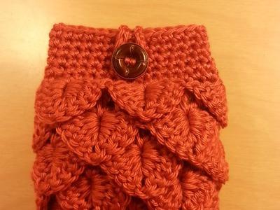 How to #Crochet coin #purse small clutch #TUTORIAL Craft Ideas DIY purses.