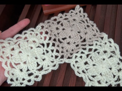How To Crochet Granny Square And How To Join As You Go Tutorial Pattern #9