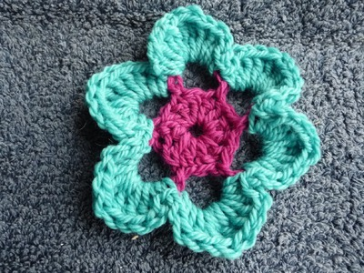 How To Crochet Large Whimsical Flower