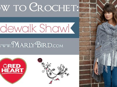 How to Crochet: Sidewalk Shawl