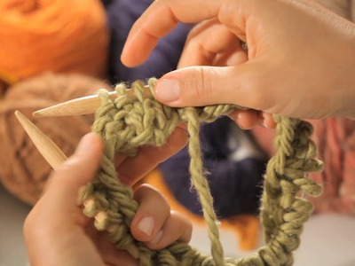 How to Do a 2x2 Ribbing in the Round   Circular Knitting