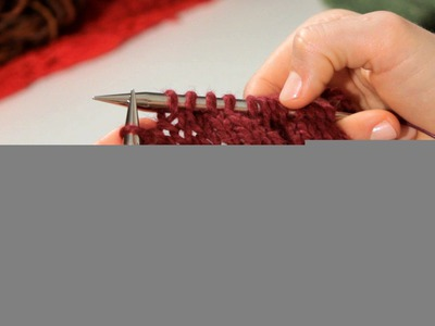 How to Do a Slip Stitch | Knitting