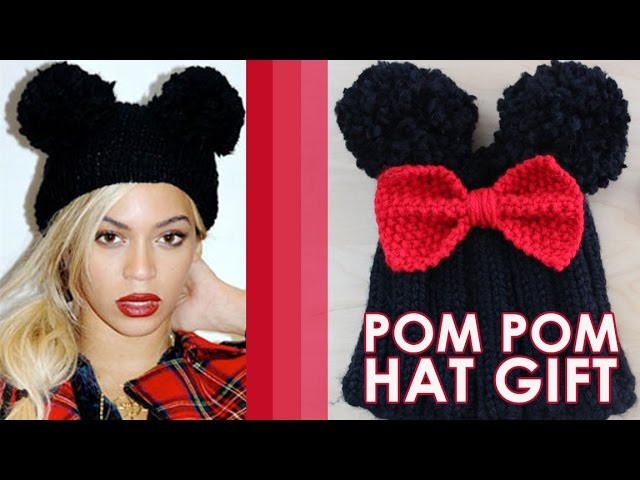 How to Knit a Pom Pom Hat | Winter Fashion Knits