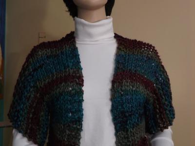 How To Knit A Shrug, Bolero.