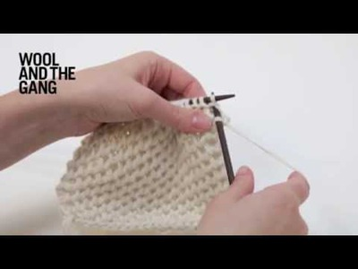 How to Knit Hexagon Stitch