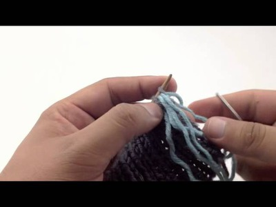 How to Knit the Tubular Bind Off