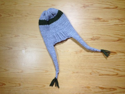 How to Loom Knit an Ear Flap Hat (DIY Tutorial)
