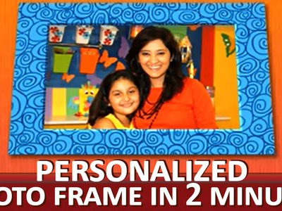 How To Make A Creative Photo Frame -
