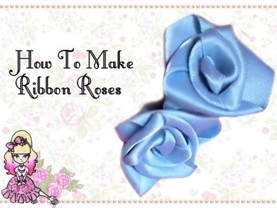 How To Make Perfect Ribbon Roses - Craft Tutorial - Violet LeBeaux