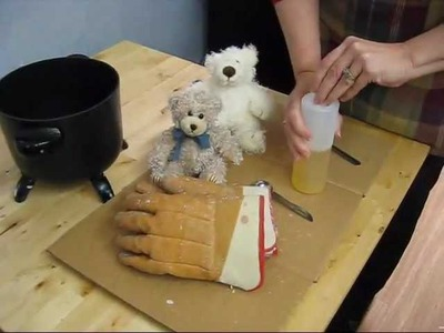 How to make Scented Teddy Bears - with Village Craft and Candle