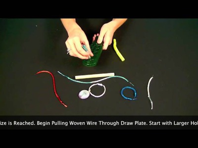How to Viking Knit Draw Plate