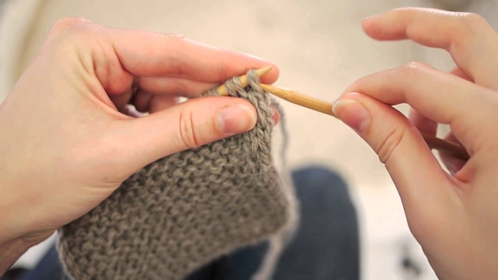 I-Cord Edging Knitting Tutorial