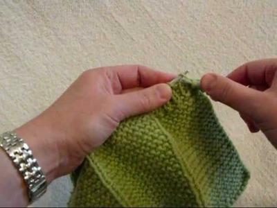 K1 P1 Ribbing - Knitting Lesson 6