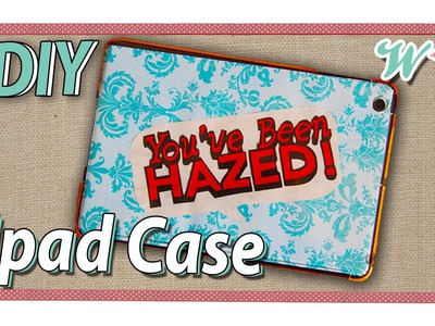 Karen's Crafts: DIY Ipad Case