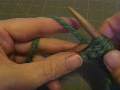 Knitting Basics:K2 P2 Rib stitch, Continental Method