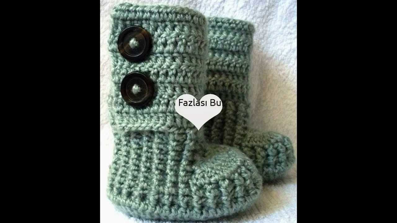 Knitting Crochet Booties (5) Designs Models New Trends Unique Patterns Fashion