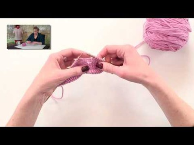 Knitting Help - Correcting a Dropped Stitch