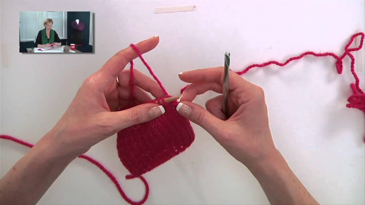 Knitting Help - Crocheted Bind-Off