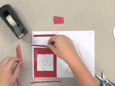 Make Cards With Iris-Folding Techniques -- An Annie's Paper-Craft Tutorial