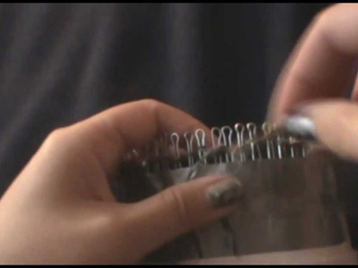 Make Your Own Circular Knitting Loom or Knitter