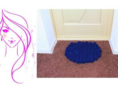 MORENA DIY: HOW TO MAKE A POM POM  RUG (DIY TUTORIAL)
