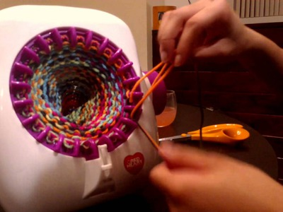 Singer Knitting Machine: Taking Your Tube Off