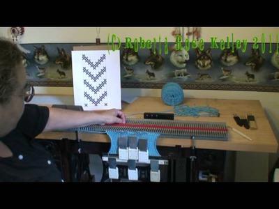 Slip Stitch on the Bond Knitting Machine