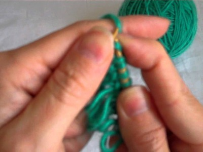 The Loop Stitch (Knitting with Worldknits)