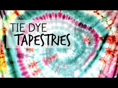Tie Dye Tapestry DIY Tutorial