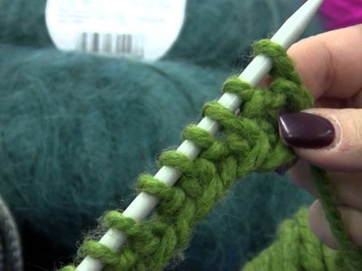 Tutorial 6 -  Knitting Instructions:  How to do the Rib Stitch