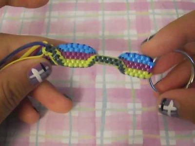 Wall Stitch Tutorial~Gimp.Craft Lace.Boondoggle