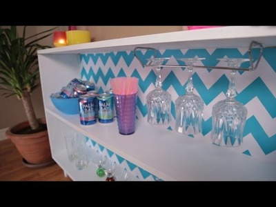 Basic Girls' Guide | Party Guide to Girls' Night In | DIY Drink Station