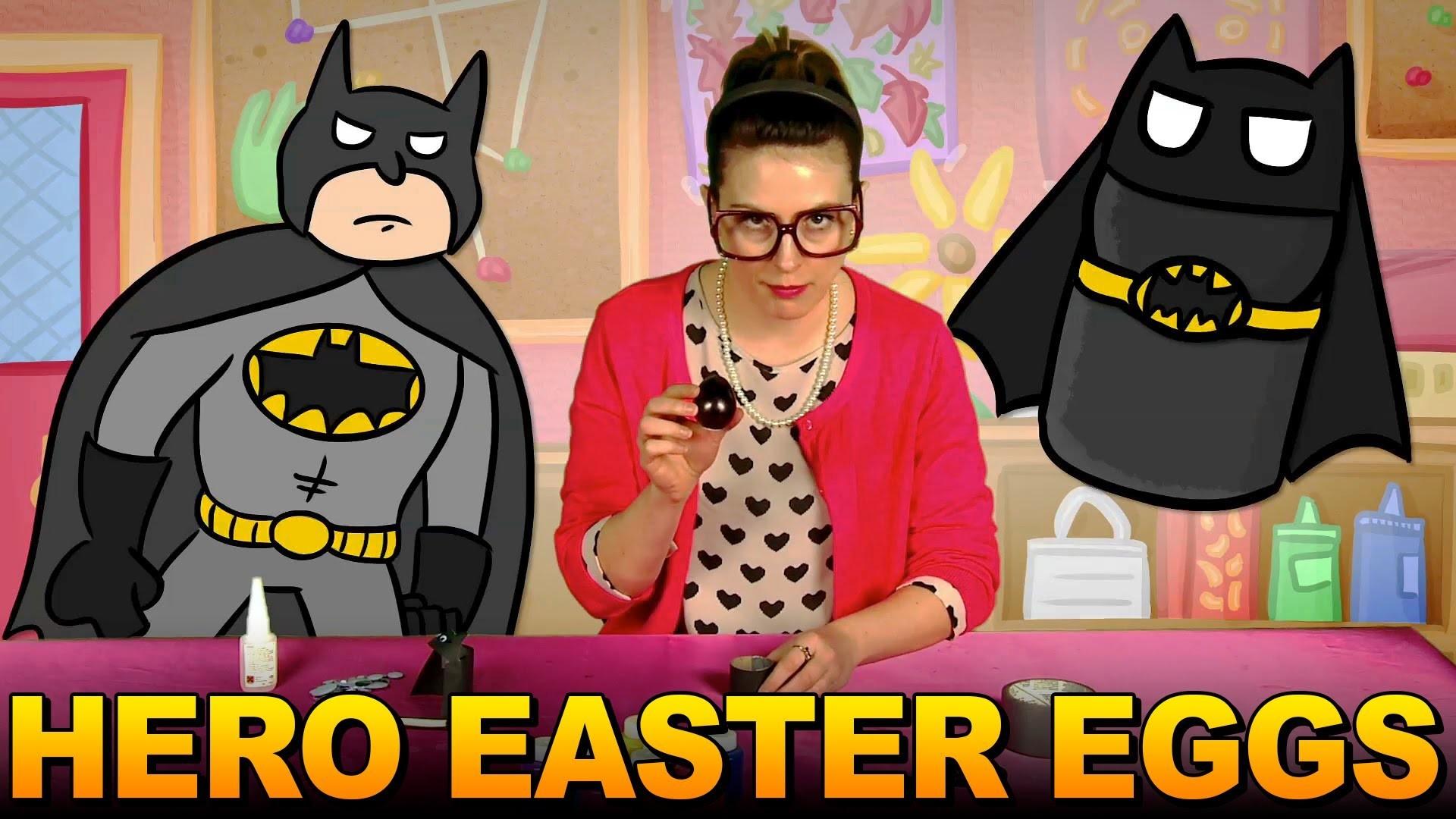 Batman Egg Craft & More Kids Crafts - Crafty Carol Compilation
