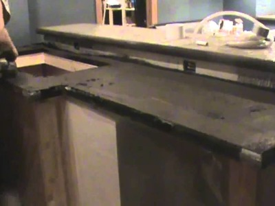 Brewpub DIY Part 3: Concrete Countertops