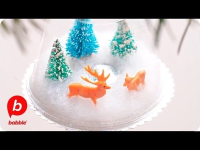 Christmas Winter Scene Ornament | Crafts | Babble