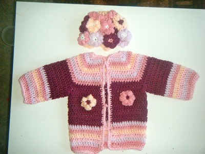 Crochet Sweater Tutorial 1-2 year old