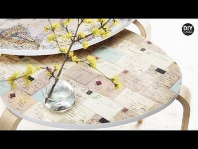 DIY by Panduro: Home Deco by Me, Decorate furniture with decoupage