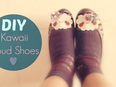 DIY Cute Cloud Shoes : Fashion Tutorial