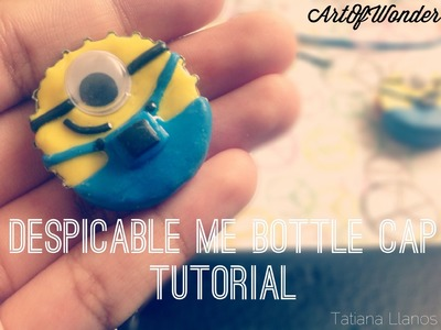 DIY Despicable Me Bottle Cap | Polymer Clay Tutorial
