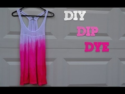 DIY Dip Dyed T-Shirt | $5 DIY!