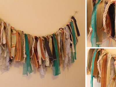 DIY Dorm Decor: Anthropologie Inspired Garland