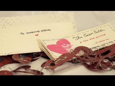 DIY Gift Idea: Coupons (Valentines Day, Anniversary, Christmas, etc)